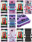 FOR LG ULTIMATE 2 REALM / L70  TUFF 3-layer  solid Hybrid hard Case Phone Cover