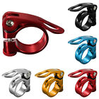 Colorful 34.9mm Alloy MTB Cycling Bike Bicycle  Seat Post Bolt Binder Clamp