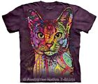 Abyssinian Cat Adults T-Shirt, Dean Russo, The Mountain T-Shirts - Sz 14-28