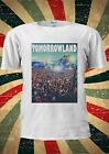 Tomorrowland Tomorrow land Party Night Club T Shirt Men Women Unisex 1068