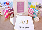 Personalised Wedding Sweet Bags INITIALS ART DECO Candy Cart Wedding Favours Con
