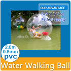 Inflatable Water Walking Ball Zorb Ball(Tizip zipper) suit  for adults and kids