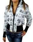 BRAND NEW ED HARDY CHRISTIAN AUDIGIER WOMEN SHORT PUFFER JACKET LOVE KILLS WHITE