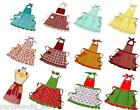 NEW ANNA GARE APRON Aprons Vintage Retro Shabby Chic Kitchen Linen 8 STYLES