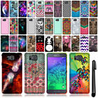 For Samsung Galaxy Alpha G850 Cute Design SILICONE Rubber SKIN Case Cover + Pen