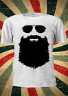 Respect The Beard Moustache Tumblr Fashion T Shirt Men Women Unisex 1755