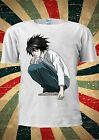 Japanese Anime Manga Death Note L Kira Ryuk T Shirt Men Women Unisex 006
