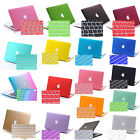w/KB Cover Logo Cut Out Hard Shell Cases for Mac Macbook Pro Air 11 13 15 Retina