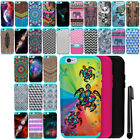 For Apple iPhone 6 Plus 6S Plus 5.5 inch HYBRID Silicone Case Phone Cover + Pen