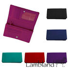 Lambland Womens / Ladies Quality Cow Calf Leather Matinee Style Purse