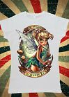 Disney Princess Tinkerbell Fairy Peter Pan Women T-Shirt Vest Tank Top W126