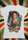 Disney Princess Tiana Tattoo Indian Beauty Women T-Shirt Vest Tank Top W127