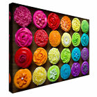 Colourful Cupcakes Selection Canvas Art Cheap Wall Print Home Interior