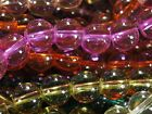 A3472C 160 Stk Glasperlen Kugel MIX 8mm Glas Perlen Transparent Beads Bunte 40 x