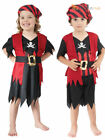 Age 2-3 Girls Boys Toddler Pirate Costume Childrens Kids Book Week Fancy Dress