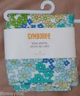 NWT Gymboree SEA SPLASH 3 4 floral BIKE SHORTS blue multi knit 3T 4T