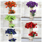 252 Mini Silk Carnations Wedding Flowers Bouquets Arrangements SALE - 15 colors
