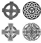 Resuable Celtic Design Window Cling
