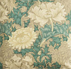 William Morris Chrysanthemum Lined Curtains - Various Sizes