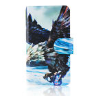 beautiful mighty eagle fish PU Leather Flip Case Cover For Samsung Galaxy 02