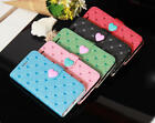 Cute Love Heart Leather Flip Wallet Case Cover For Apple iPhone5 5S 6 Plus AXB