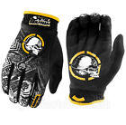 NEW Metal Mulisha VOLT Black Yellow Gloves motocross atv off road
