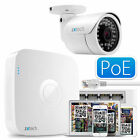 2 MP 1080P High Def Camera Full HD Recorder Complete PoE IP P2P QR CCTV Kit UK