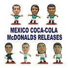 COCA-COLA MEXICO NATIONAL TEAM McDONALDS MICROSTARS Choice of 9 Figures RED Base