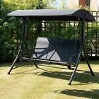 Garden Swing Havana Suntime 2 or 3 Seater In Black Free Delivery
