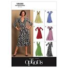 Vogue 8489 Easy Options Long Short Sleeves Dress Sewing Pattern V8489 6 in 1