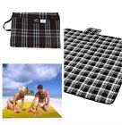 Travel Outdoor  Waterproof Picnic Rug Tartan Blanket Outdoor Beach Camping Bag