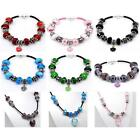 Finished Leather Charm Bracelets and Necklaces Charms Beads and Gift Bag