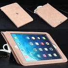 Luxury Leather Smart Stand Case Cover for iPad 2/3/4 Air/ Air 2 /Mini Retina/Pro