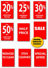 Sale A4 Double sided printed posters x 6 of your choice