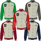 Mens Raiken Tommy Padded Varsity Letterman Baseball Bomber Jacket Coat Size