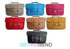 Womens Moda Satchel Bag Girls Faux Leather School College Shoulder Hand Bag