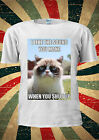 GRUMPY CAT I LIKE THE SOUND YOU SHUT UP T-shirt Vest Top Men Women Unisex 1935