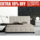 """""""QLD PICKUP"""" Italian Design Mondo Leather Bed Frame (King/Queen/Double)"""