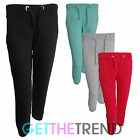 Womens 3/4 Cropped Jogging Bottoms Ladies Running Fitness Gym Pants Capri