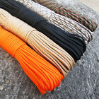 550 Paracord Parachute Cord Lanyard Mil Spec Type III 9 Strand Core 100 FT HOT