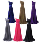 Stunning Lady Ruched Bodice Formal Evening Long Maxi Gown Ball Prom Bridal Dress