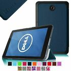 Slim Smart Shell Case Stand Leather Case for 7-inch DELL Venue 7 Android Tanlet