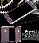 Full Coverage Apple iPhone 6 & 6 Plus Crystals Purple Sticker Protector Case I23