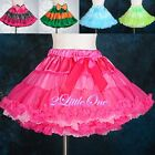 Two-ways Wearable Girls Pettiskirt Petticoat Tutu Skirt Size 12 Months - 9 #007