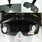 Polarized Brown black wraparound Sunglass Flip up Clip on fit over Cap hat 8363