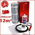 Electric Underfloor Undertile Heating Kit 200w 12m2 Thermopads FREE Delivery