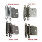Probrico Kitchen Cabinet/Cupboard Soft Self Close Door Hinges Slide Flush Hinges