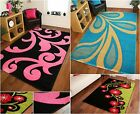 Modern Thick Easy Clean Non Shed Soft Quality Design Reduced CLEARANCE Rugs UK