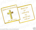 * 50 PERSONALISED CHOCOLATES CHRISTENING/ BAPTISM/ COMMUNION *