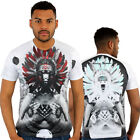Red Indian Chief Girl 3D Print Fitted T-Shirt Urban life Monkey Business Hip Hop